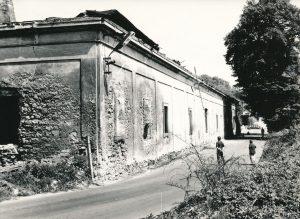 Podzámecká jízdárna před demolicí roku 1978