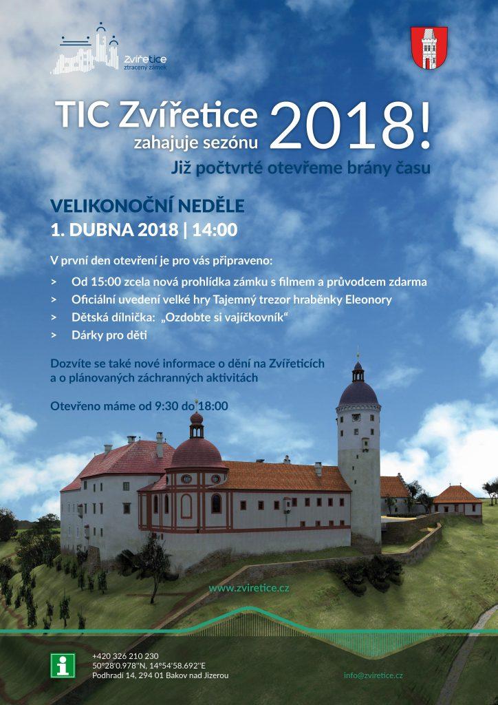 TIC Zvířetice zahajuje sezónu 2018!