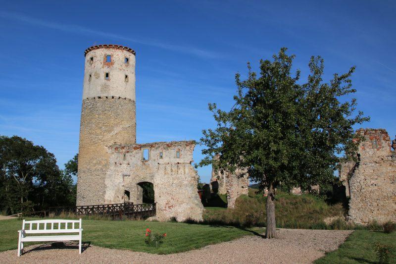 Otvírání zámecké věže