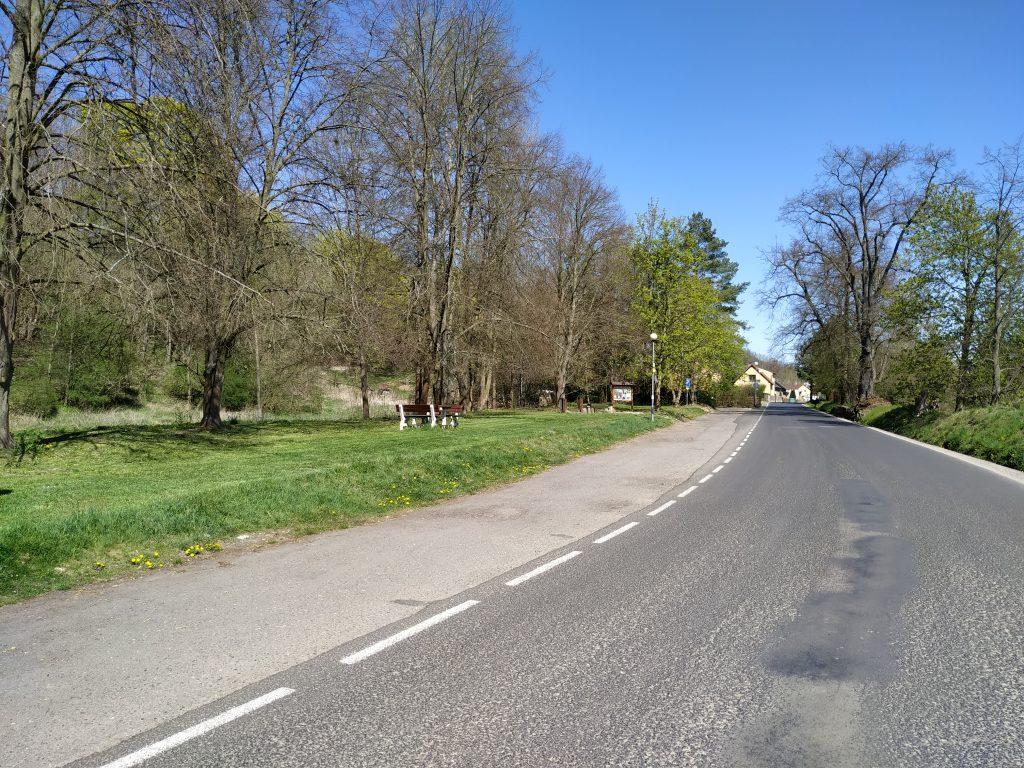 Parkoviště v Podhradí opět otevřeno